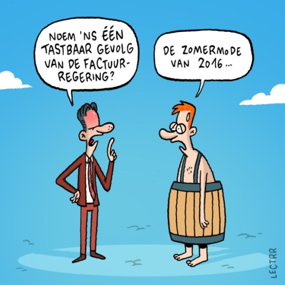 Cartoon Lectrr Factuurgeneratie